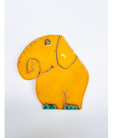 Clay picture - wall hanger 381