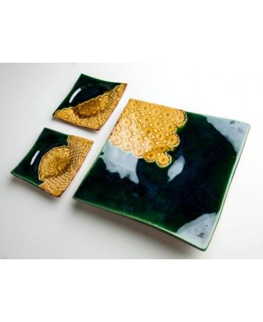Zestaw talerzy, dekoracyjny 635