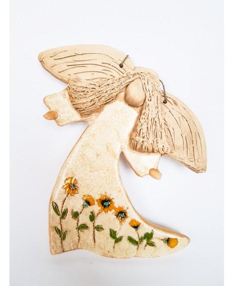 Anioł ceramiczny 444